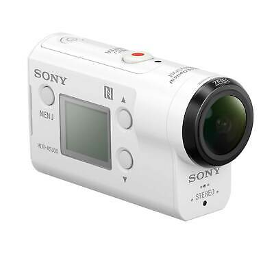 Sony HDRAS300/W HD Action Cam (Open Box) Damaged Manufacturer Box