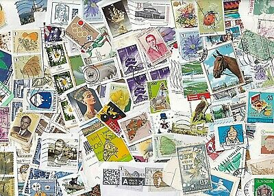 World wide collection....35 grams used stamps on paper
