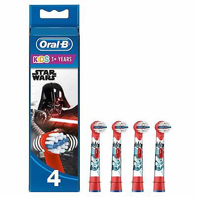 Oral-B Genuine Kids Stages Star Wars  Red Toothbrush Heads, Refills for Electric