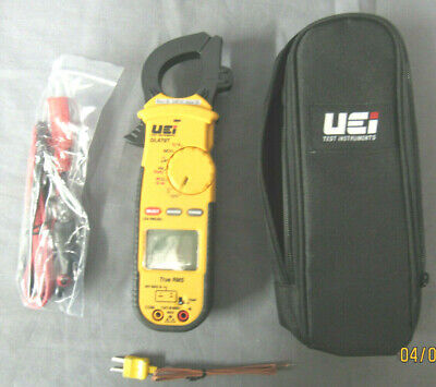 UEI Test Instruments DL479 True RMS HVAC/R Clamp Meter, AC 600 Amp