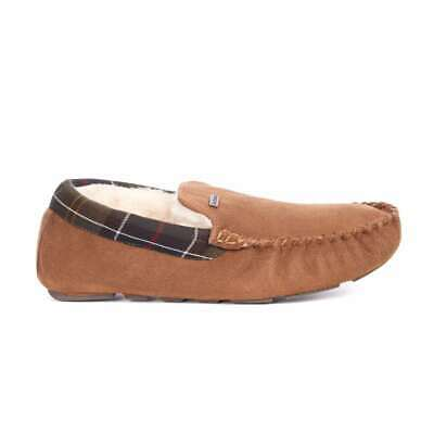 SALE EVENT Barbour Monty Slippers Camel Suede