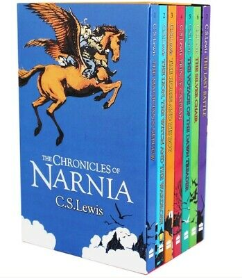 The Complete Chronicles of Narnia ( Boxed Set 7 Books ), Lewis, C. S., New,