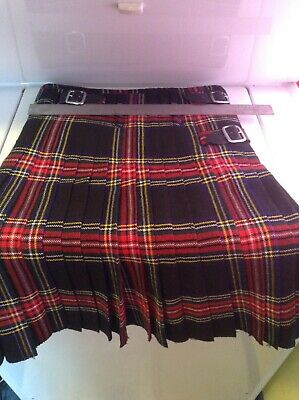 Handcrafted Mens Kilt Renaissance Festival Wenches At Work Size 30 EUC