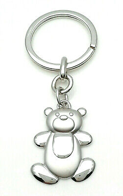 Keyring with Bear Cub Silver 925 from Gioielleria Amadio