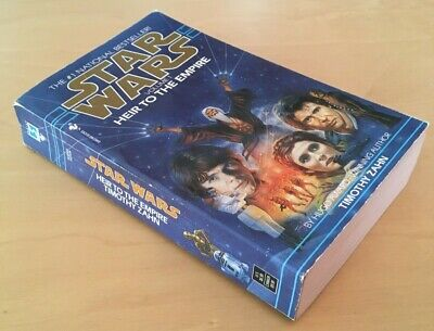 Star Wars: Heir to the Empire Thrawn Trilogy Vol 1 by Timothy Zahn 1992 Printing