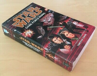 Star Wars: Dark Force Rising Thrawn Trilogy Vol 2 by Timothy Zahn 1993 Printing
