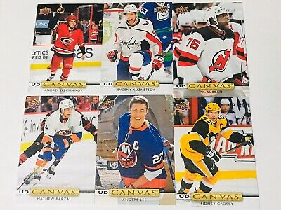 2019-20 Series 2 Ud Canvas Young Guns Retired Sp Program Of Excellence C121-C270