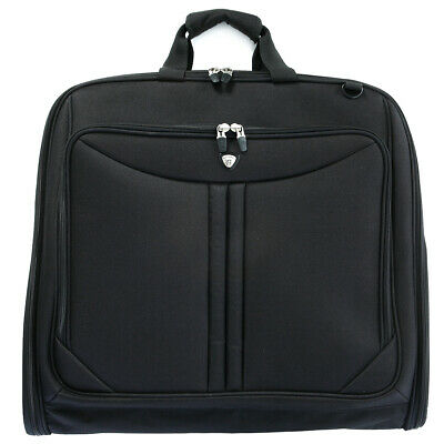 Olympia Deluxe Business Travel Carry-on Garment Storage Tote Bag in Black
