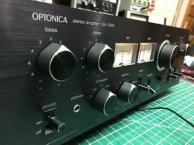 Optonica SM-3205 stereo amplifier -  40wpc very clean and nice
