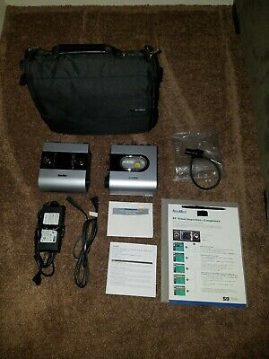 Resmed Elite S9 With Power Cord Carry Case Adapter And Manuals Hi5 Humidifier