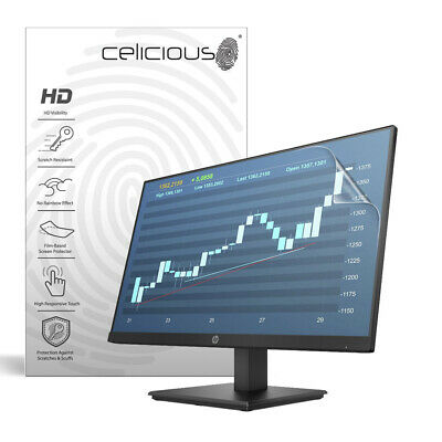 Celicious Vivid HP 24 P244 Monitor Invisible Screen Protector [Pack of 2]