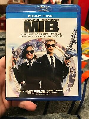 MIB: Men In Black International (Blu-ray + DVD + Digital, Bilingual)