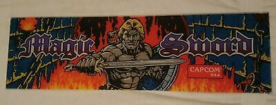 Capcom ROUGH RANGER & USA 1990 * MAGIC SWORD * Lot Group Headers Marquee Sign