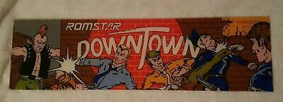 Romstar SKY SOLDIERS 1988 & DOWNTOWN 1989 * LOT GROUP Sign Headers Marquee
