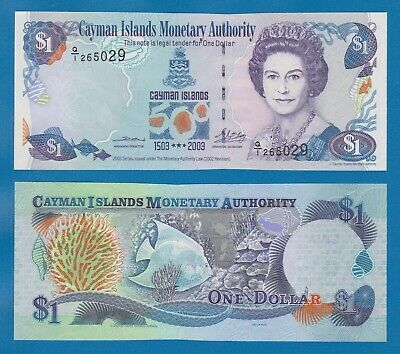 Cayman Islands 1 Dollar P 30a 2003 UNC Commemorative Low Shipping CombineFREE 30