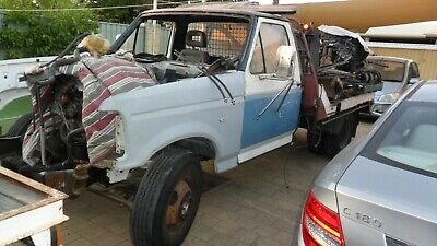 Two Ford Bronco shape F350's Unfinished Projects