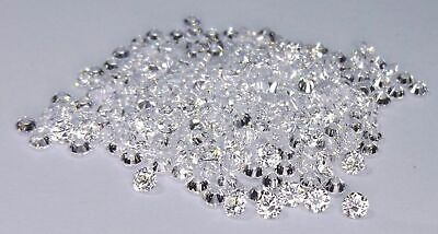 2.01 CT Labo Grown Desseré Diamants Coupe Ronde 1.50-1.60 mm Hpht 100 Pièces
