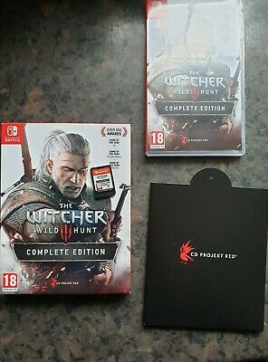 THE WITCHER 3 WILD HUNT COMPLETE EDITION  Switch Game