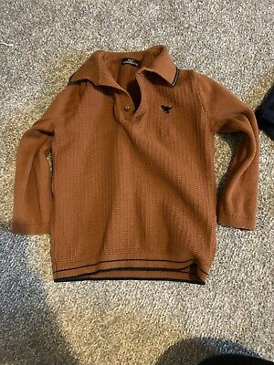 Next Jumper Boys 18-24 Months Tan Colour