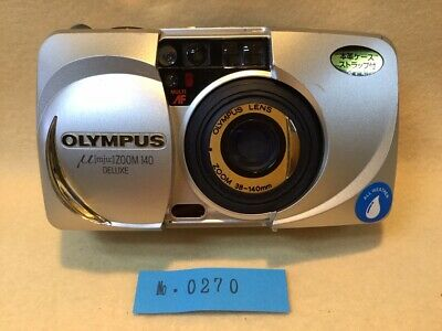 Olympus Stylus Zoom 140 Deluxe 35mm Point & Shoot Film Camera