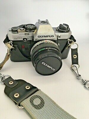 Olympus OM10 Camera With Zuijk Auto-S 50mm 1:1,8 Lens