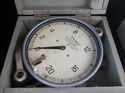 Dynamometer 0-2 tons' USSR ! New ! Top Grade!!!