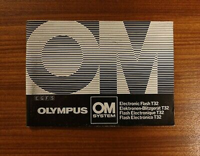 Olympus Om-System T32 Electronic Flash Instructions