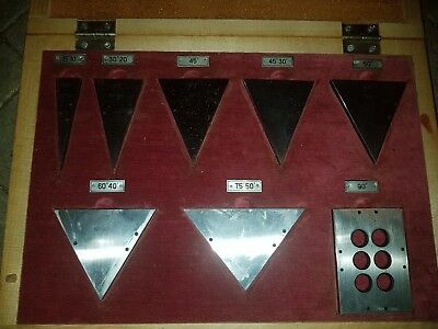 Precision Angle Gauge Block Set  Grade 1 Made in USSR! RARE!