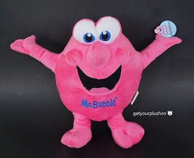 Mr. Bubble Character Promo Collectible Plush 2011
