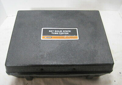 B&K Model 667 Solid State Tube Tester==w/ Manuals