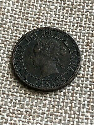1876-H Canada Large Cent