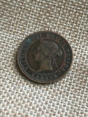 1881-H Canada Large Cent