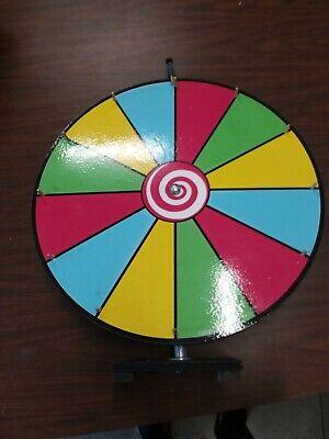 Prize Spin Wheel. USED. AS IS.
