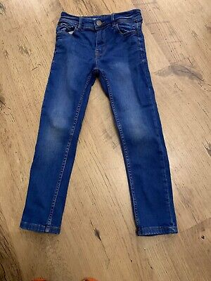 Next Boys Skinny Fit Blue Denim Jeans Age 6 Years