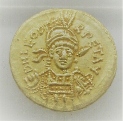 Unresearched Ancient Byzantine Au Gold Solidus Coin