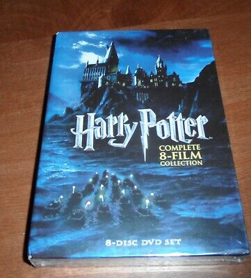 HARRY POTTER: THE COMPLETE 8-FILM COLLECTION (Region 1 DVD,US Import,sealed.)