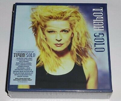 TOYAH - SOLO  * SIGNED / AUTOGRAPHED * 7 x CD + DVD, LIMITED EDITION, PRE-ORDER