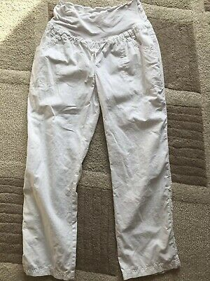 Blooming Marvellous Size 18 Maternity Linen Trousers Summer Holoday