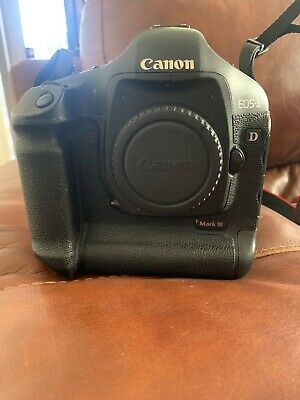 Canon EOS 1D Mark III 10.1MP DSLR Camera - Black (Body Only) New Battery&Charger