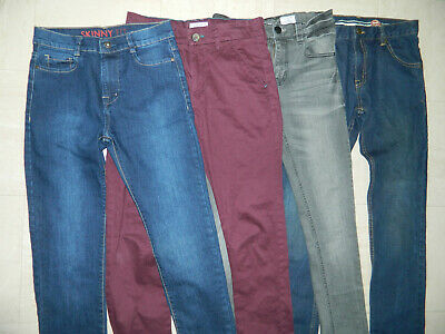 Boy's Next Jeans Trousers Bundle age 12/13 years Skinny Fit