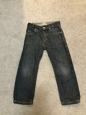 Burberry boys jeans size 5 years