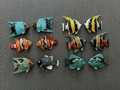 Jewelry Making Drilled Hard Rubber Fish for Earrings or Necklaces FREE SHIPPING