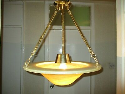 Art Deco Flycatcher Ceiling Light With Fixtures And Fittings .