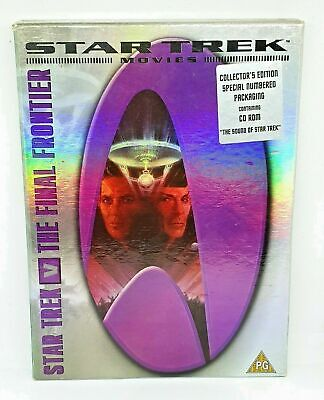 Star Trek Movies: Star Trek V The Final Frontier Collectors Edition Number 21921