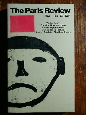The Paris Review #103, Summer 1987 - Styron, Percy, Mailer, Neruda
