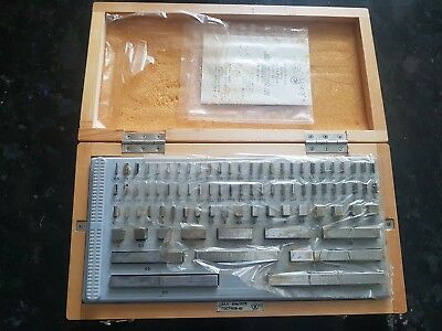 Precision Metric Gauge Block (83 pcs) class 2 Top Grade ! Endmass Satz USSR!