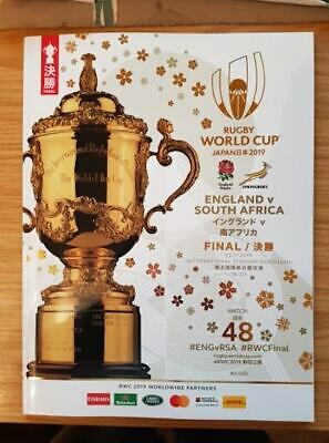 Official 2019 Rugby World Cup Final Programme - England v South Africa - Game 48