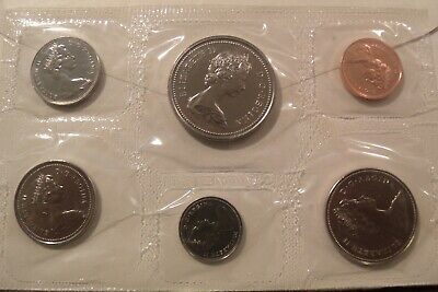 CANADA - 1973 One Cent (1c) to One Dollar ($1) Specimen Set Sealed Uncirculated