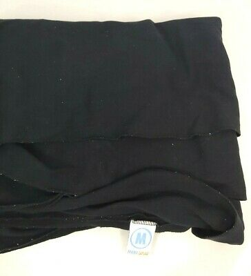 Moby Wrap Baby Carrier Black