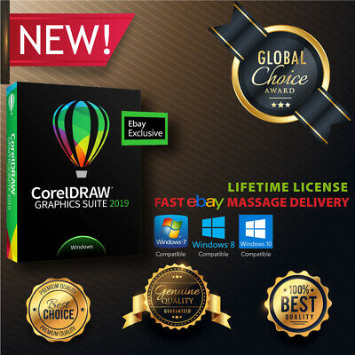 CorelDRAW Graphics Suite 2019 🔥 Full Digital version ⚡ Instant Delivery ⚡